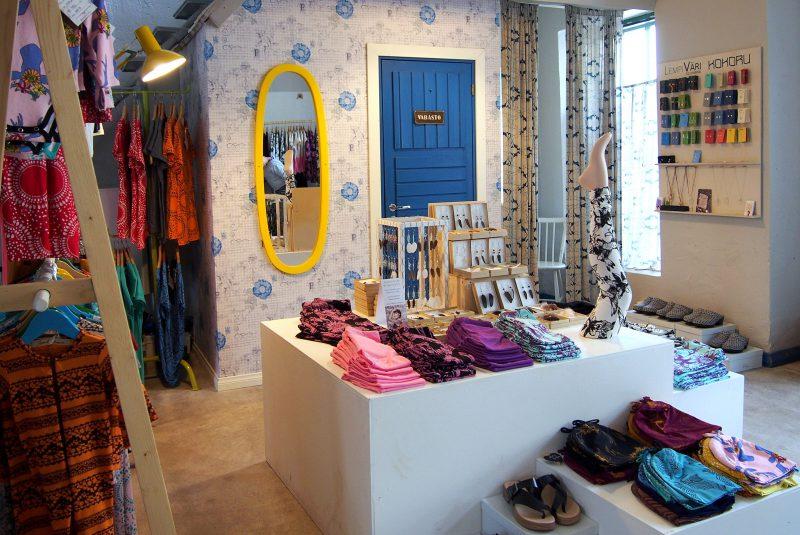 Second Chance -kauppa Mathildedalin ruukkikylässä Salon Perniössä, Kuva: Arjen pilkahduksia -blogi, luvaton käyttö kielletty